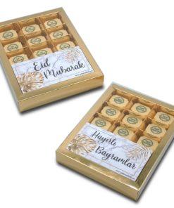"""Eid Mubarak/Hayırlı Bayramlar"" Pralines bonbons chocolade"