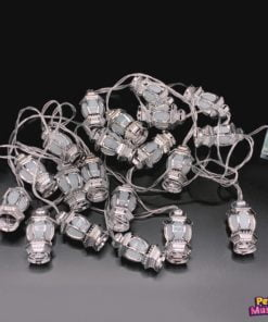 Lantaarnslinger zilver