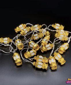 Lantaarnslinger goud