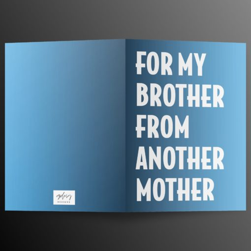 For My Brother from Another Mother kaart (1)