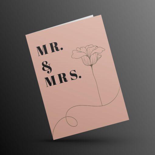 Huwelijkskaart 1