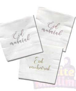 Eid Mubarak servetten