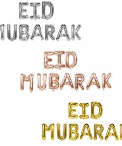 Folie ballonnen Eid Mubarak