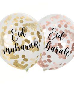 Confetti ballonnen Eid Mubarak
